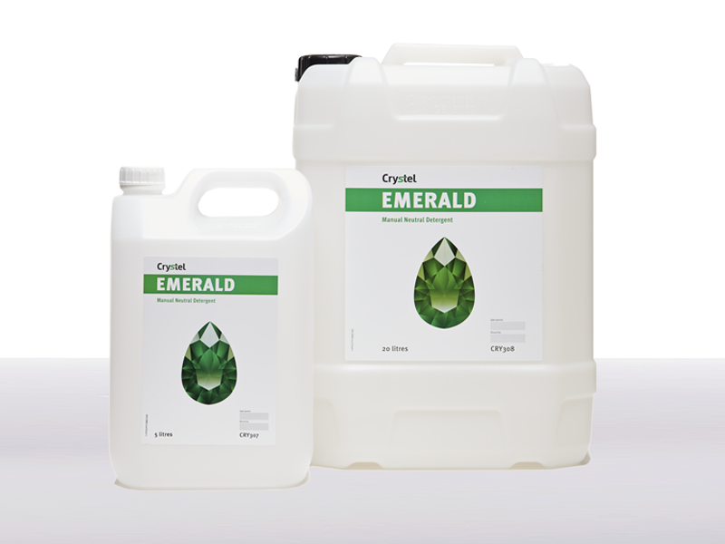 Crystel Emerald 5 and 20 litre drum.