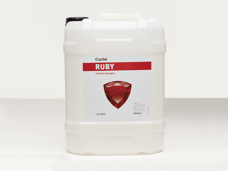 Crystel Ruby 20 litre drum.